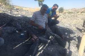 Tailleur de pierre à Bordj Bou-Arréridj: Un dur métier qui persiste