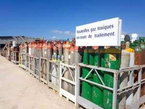 Plus de 1330 bouteilles de gaz toxiques menacent d'exploser