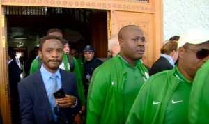 بالفيديو.. شاهد وصول منتخب نيجيريا إلى مطار قسنطينة