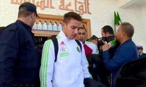 بالفيديو.. شاهد وصول المنتخب الوطني إلى مطار قسنطينة و ماذا قال ماجر و مجاني