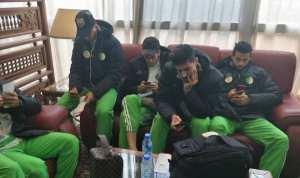 بالصور... المنتخب الوطني يطير إلى قسنطينة تحسبا لمواجهة نيجيريا