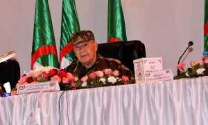 Les hauts faits consentis de l'ANP pour stabiliser le pays soulignés par Gaïd Salah