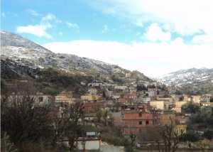 Froid et neige au nord de Sétif