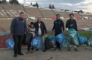 Annaba - Green Bike et le virus de la propreté dans les stades