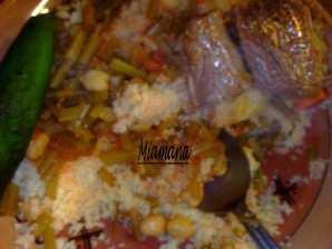 Couscous aux chardons sauvages