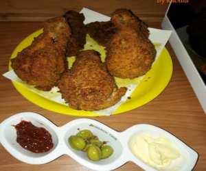 Recette du poulet KFC fait à la maison super bon, très croustillant et fondant