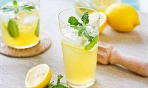 Boisson detox au citron
