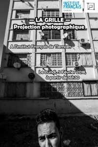 PROJECTION PHOTOGRAPHIQUE LA GRILLE