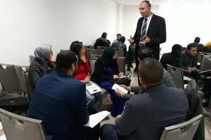 Formation à Sidi Bel Abbes : La prise de parole en public.