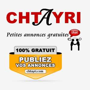 Chtayri le 1 ier site des petites annonces gratuites au Maroc