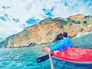Les trésors naturels de #chenoua en kayak de mer
