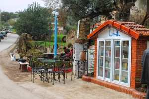Un coin de lecture à Tiza, commune d'Ammal- Sud de Boumerdès !