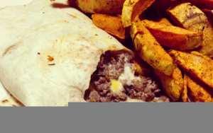 Tacos & frites de patates douces