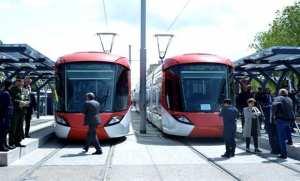Bedoui procède à la mise en service officielle du tramway de Sétif