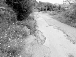 Ghazaouet : La route d'El Mizab dans un piteux état
