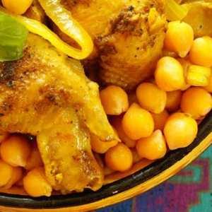 Mtewem sauce blanche au poulet