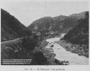 """photos rares datant de 1911 prises dans la localité de """"Ḥammam Melwan"""