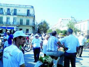 Jijel - Un festival pour la bicyclette