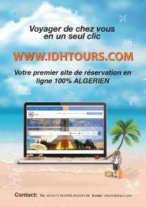 Lancement officiel d'un nouveau site de réservation de voyage en ligne 100% Algérien.