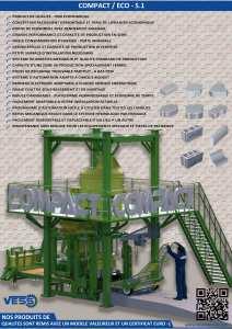 Compact Eco : Machine Pavé Parpaing Brique Hourdis