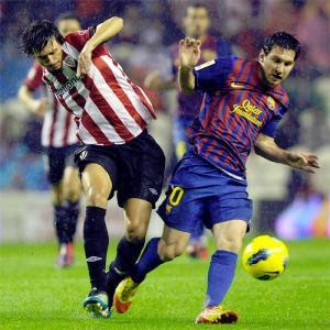 برشلونة يتعادل مع بلباو