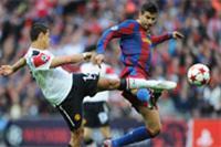 برشلونة يلتقي مانشستر في إعادة لنهائي دوري أبطال