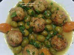 طاجين الزيتون الجزائري