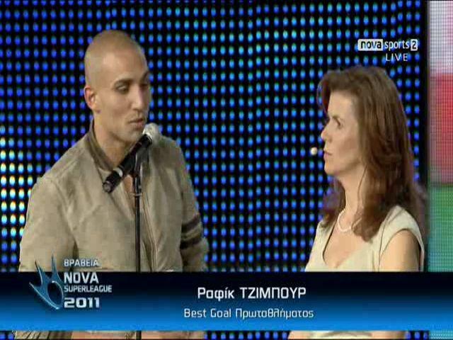 جوائز الدوري اليوناني:أجمل هدف من توقيع جبور و عبدون في أحسن لقطة