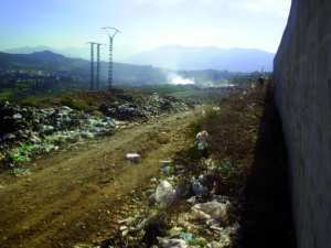 Constantine - Centre d'enfouissement technique (CET) de Bougharb à Benbadis: Réalisation d'une station de traitement du lixiviat