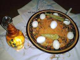 Tchiw tchiw ou le couscous de légumes (le plus sain)