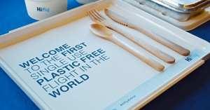 Cette compagnie aérienne renonce au plastique jetable : une première