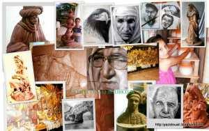 l'artiste peintre ouali boubkeur