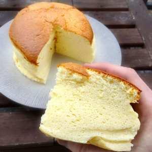 Un cheesecake japonais