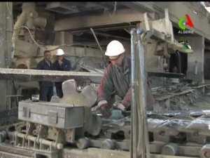 GHAZAOUET (TLEMCEN) L'usine d'électrolyse de zinc à l'arrêt