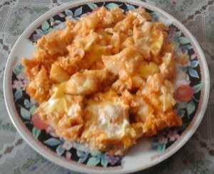 Recette du chou-fleur et pomme de terre aux oeufs
