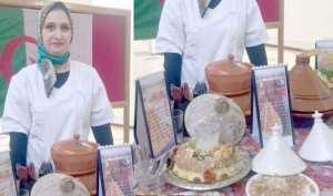سميرة أومكي مختصة في الطبخ التقليدي لـ