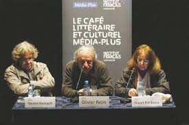 """OLIVIER ROLIN INVITÉ DU CAFÉ LITTÉRAIRE ET CULTUREL DES ÉDITIONS MÉDIA-PLUS : """"La littérature ne changera pas le monde comme une révolution"""""""