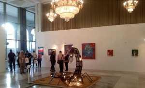 Exposition d'artisanat au Palais de la culture