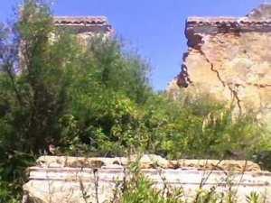 Ruines du mausolée du Bey Mohammed Ben Ali dit Edebbah (l'égorgeur)
