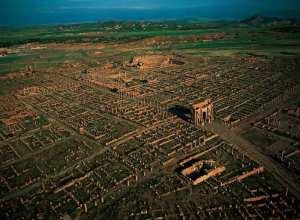 Bonjour de #Timgad... !