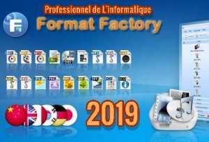تحميل برنامج تتحويل صيغ الفيدية Format Factory