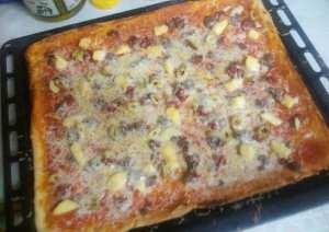 بيتزا جزائرية