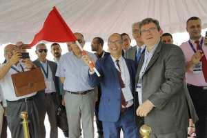 Pose de la première pierre de l'usine PSA en Algérie