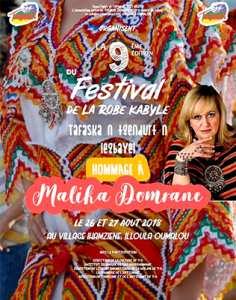 Tizi-Ouzou: coup d'envoi de la 9e édition du festival de la robe kabyle