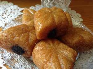 Losanges aux dattes (Makrout)