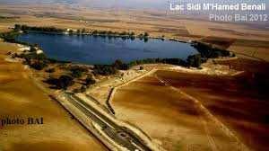 Ain Trid (Sidi Bel Abbès) - Des bénévoles dépolluent le lac de Sidi M'hamed Benali