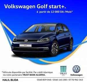 Polo, Golf et Caddy disponible à crédit islamique chez Halil Blida en partenariat avec Trust Bank Algeria