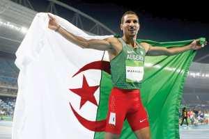 """Algérie - IL A DÉCROCHÉ LA MÉDAILLE D'ARGENT DANS LE 1.500 M DES MONDIAUX D'ATHLÉTISME DE DOHA Makhloufi: """"Ce n'est pas le fruit du hasard"""""""