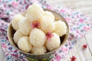 طريقة عمل حلوى جوز الهند بدون طهي…سهلة و لذيذة