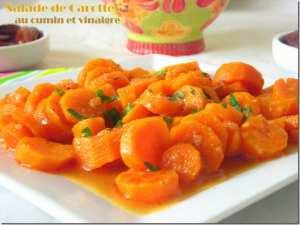 Salade de carottes a l'algerienne